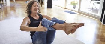 Yoga-oefeningen thuis