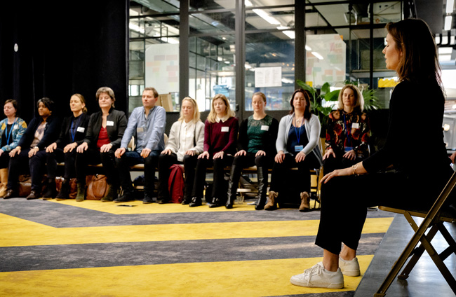 Oefening Wellbeing event
