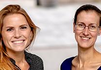Mirella van Nimwegen en Rosanne Hogendoorn
