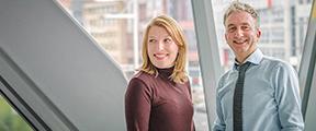 Franka van der Ende en Dennis van 't Hart