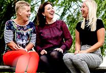 Sandra de Groot, Dieuwertje Slofstra en Roxane Novák