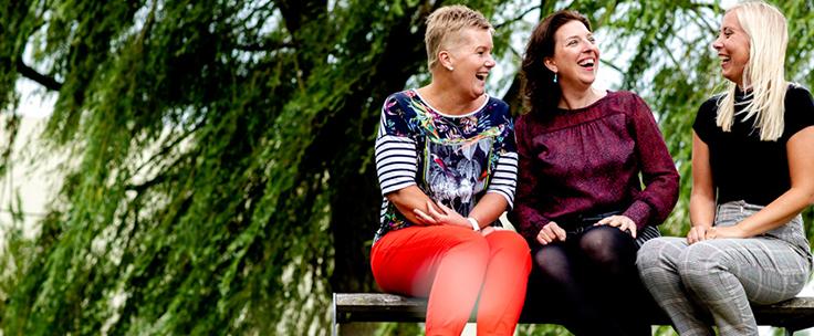 Sandra de Groot, Dieuwertje Slofstra en Roxane Novák, advies- en accountantskantoor Flynth