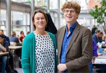 Elsbeth van Epen en Ronald Bremer