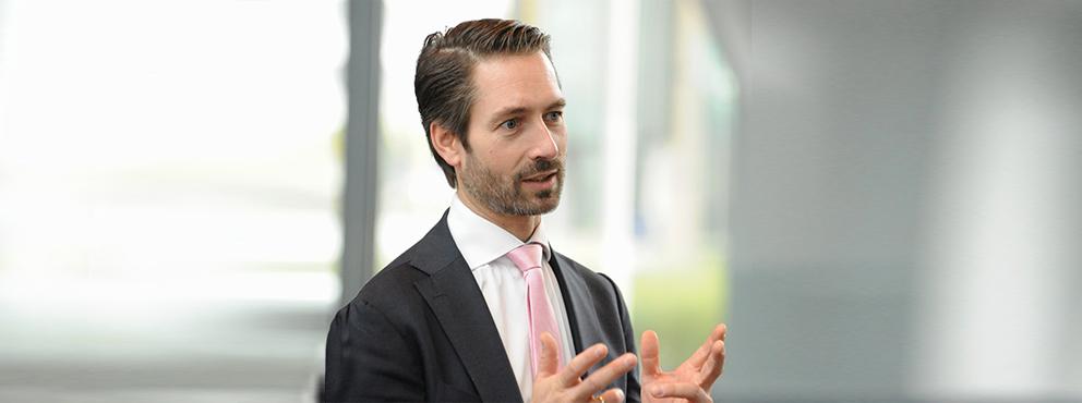 Jan-Willem Evers, directeur Marketing en Verkoop van Zilveren Kruis
